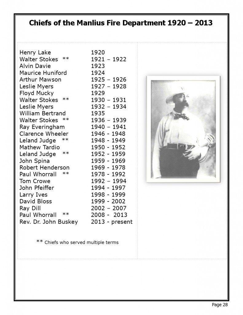 past chiefs